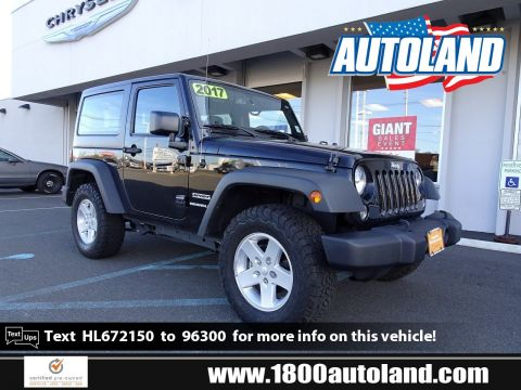 Certified Pre-Owned 2017 Jeep Wrangler Sport 4WD Convertible