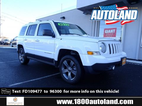 Certified Pre-Owned 2015 Jeep Patriot High Altitude Edition 4WD Sport Utility
