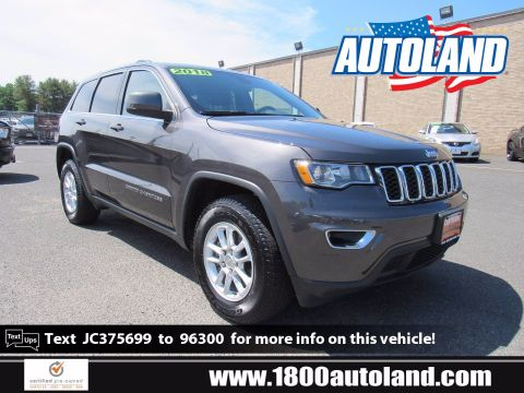 Certified Pre-Owned 2018 Jeep Grand Cherokee Laredo E 4WD Sport Utility