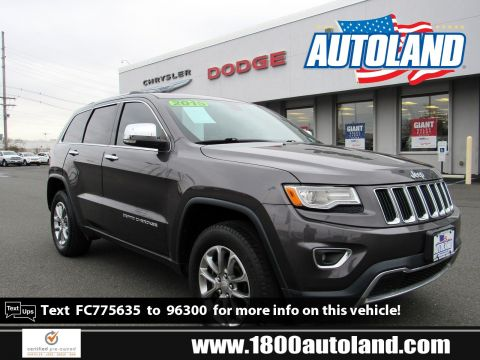 Certified Pre-Owned 2015 Jeep Grand Cherokee Limited 4WD Sport Utility
