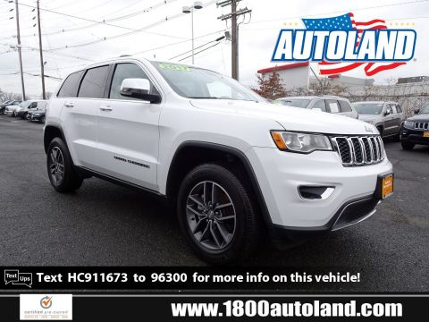 Certified Pre-Owned 2017 Jeep Grand Cherokee Limited 4WD Sport Utility