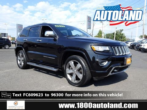 Certified Pre-Owned 2015 Jeep Grand Cherokee Overland 4WD Sport Utility