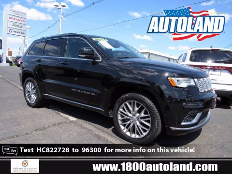 Certified Pre-Owned 2017 Jeep Grand Cherokee Summit 4WD Sport Utility