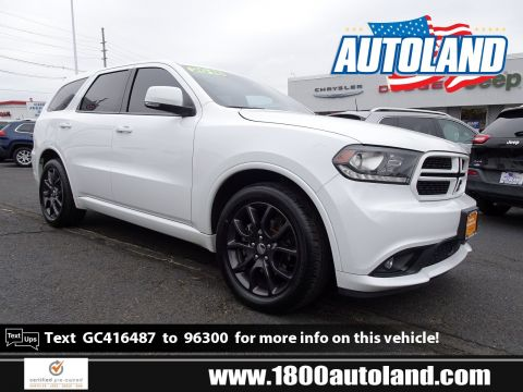 Certified Pre-Owned 2016 Dodge Durango R/T AWD Sport Utility
