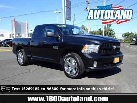 Certified Pre-Owned 2018 Ram 1500 Express 4WD Crew Cab Pickup