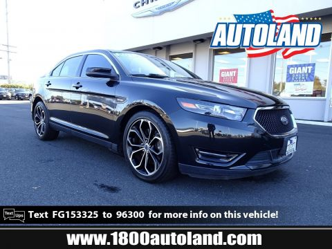 Pre-Owned 2015 Ford Taurus SHO AWD 4dr Car