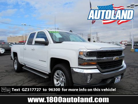 Pre-Owned 2016 Chevrolet Silverado 1500 LT 4WD Extended Cab Pickup