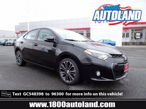 Pre-Owned 2016 Toyota Corolla S Plus FWD 4dr Car