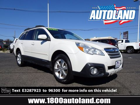 Pre-Owned 2014 Subaru Outback 2.5i Limited AWD Sport Utility