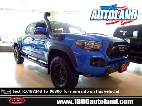 Pre-Owned 2019 Toyota Tacoma 4WD TRD Pro Four Wheel Drive Crew Cab Pickup