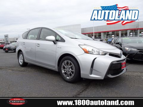 Pre-Owned 2016 Toyota Prius v Three Front Wheel Drive Station Wagon