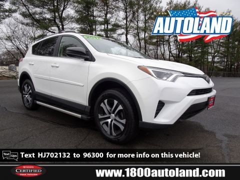 Pre-Owned 2017 Toyota RAV4 LE AWD Sport Utility